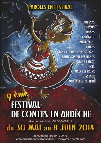 Festival de contes en Ardèche